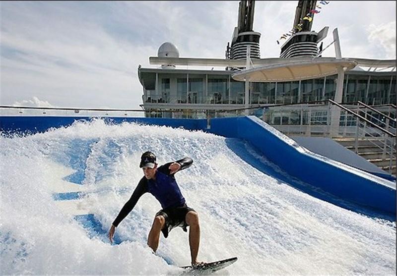 تصاویر بزرگترین کشتی تفریحی دنیا