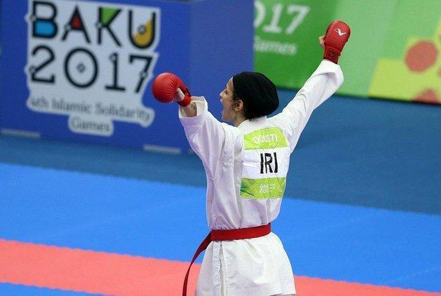 سه مدال رنگین برای دختران کاراته، برق زرین طلا بر گردن دوستی؛ علیپور نقره و خاکسار برنزگرفت