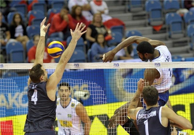 چهره 4 تیم نیمه نهایی معین شد، لهستان و آمریکا حذف شدند