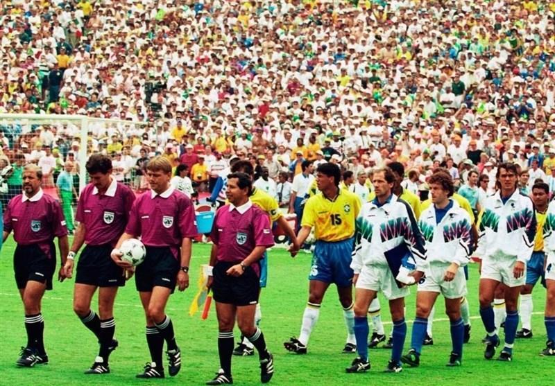 فینالیست های جام جهانی 1994 با ترکیب مشابه به مصاف هم می فرایند