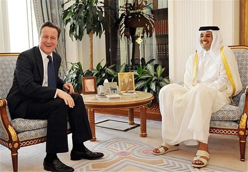 دیوید کامرون برای درخواست توقف حمایت قطر از تروریست ها تحت فشار نهاده شد