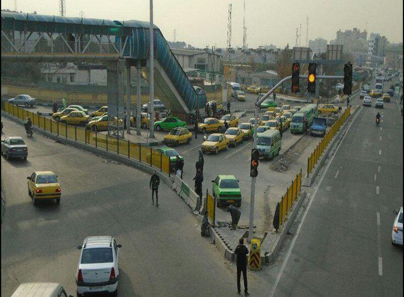 پایانه تاکسیرانی موقت تهرانپارس دائمی می گردد