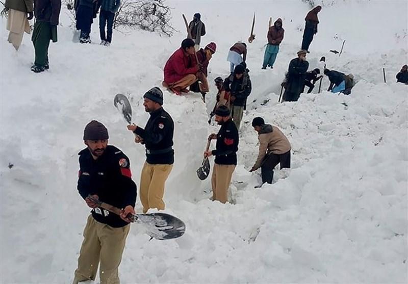 شروع فاجعه بهمن های سنگین کوه های هیمالیا در شمال پاکستان؛ 15 نفر دیگر کشته شدند