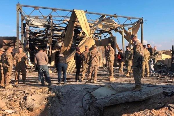 شمار مجروحان حمله موشکی ایران به پایگاه عین الاسد افزایش یافت