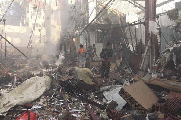 جنگنده های سعودی شهر صنعاء را بمباران کردند