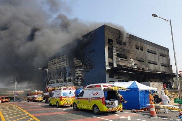 آتش سوزی در ساختمانی در کره جنوبی با 36 کشته و 10 زخمی