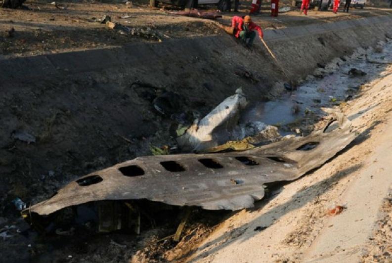 هیچ پیامی درباره شرایط غیرمعمول مخابره نشد، هواپیما در آسمان آتش گرفت