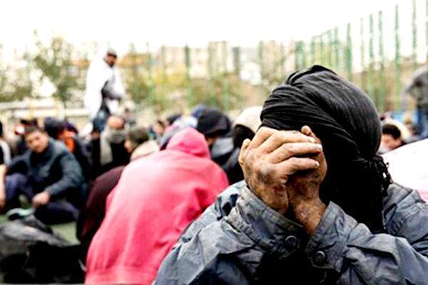 کرونا، معتادان متجاهر را به قرنطینه کشاند