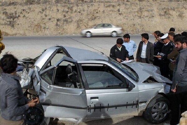 برخورد پژو با کامیون در دهلران یک کشته بر جا گذاشت