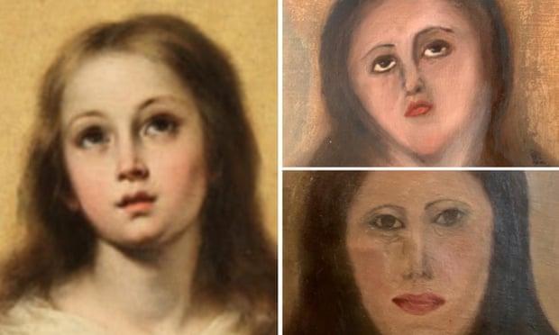 بازسازی تابلوهای مشهور هنری به سبک مستر بین