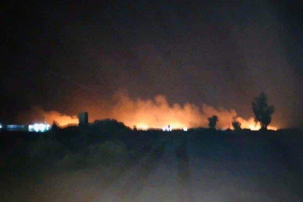 انفجار بمب در صلاح الدین عراق
