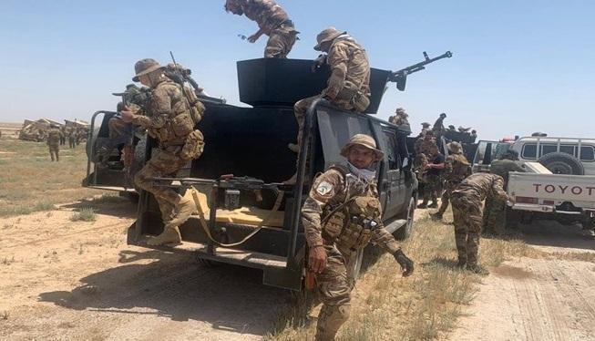 الحشد الشعبی هشت تن از خطرناک ترین تروریست ها را دستگیر کرد