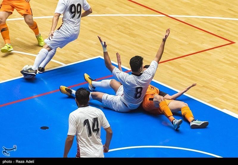 درگیری شدید پس از پایان فینال لیگ برتر فوتسال
