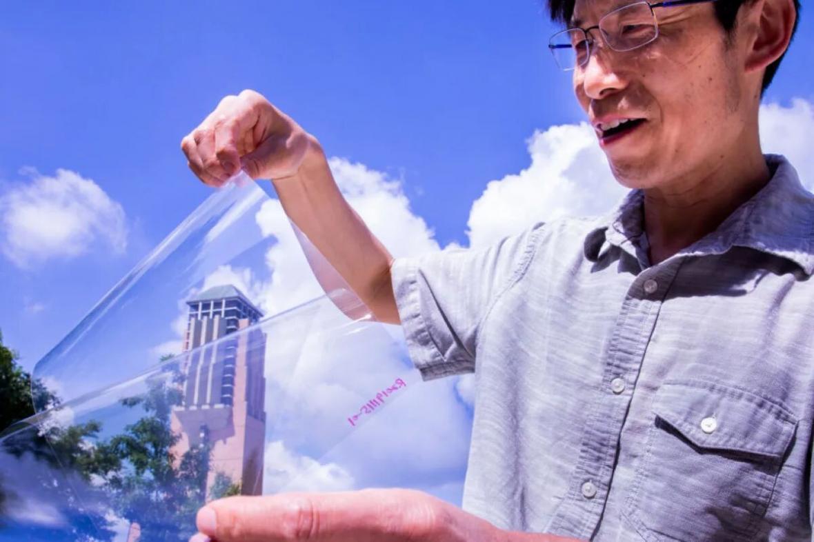 پلاستیکی رسانا شفاف تر از پلاستیک معمولی ساخته شد