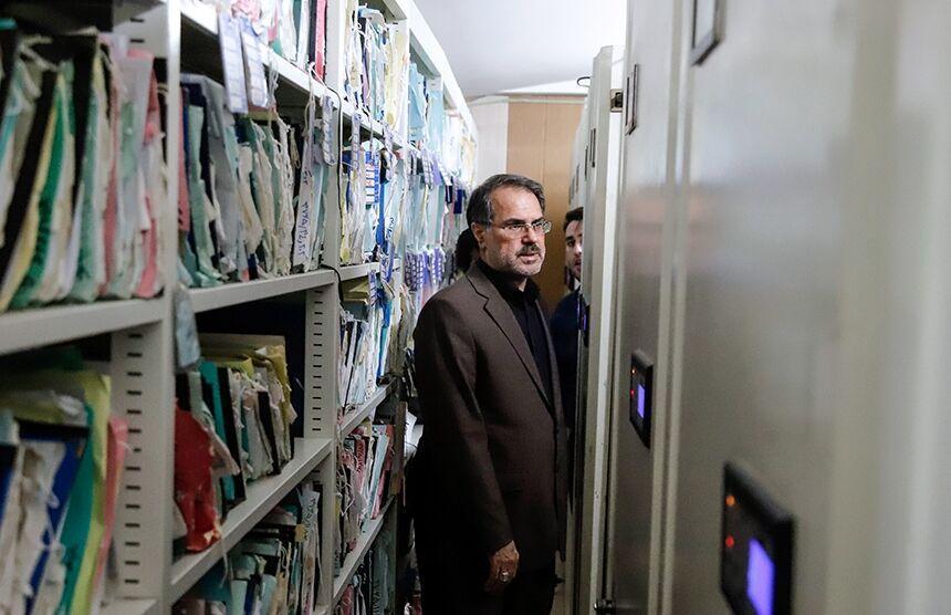 خبرنگاران بازدید سرزده رئیس سازمان ثبت اسناد از ورامین