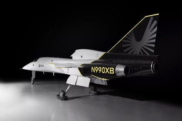 اولین هواپیمای مسافربری مافوق صوت رونمایی شد