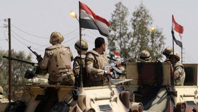 ارتش مصر رزمایش برگزار کرد