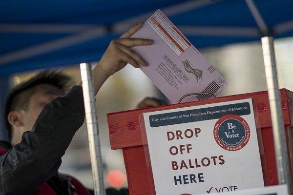 بیش از 70 میلیون آمریکایی در رای گیری پُستی شرکت کرده اند