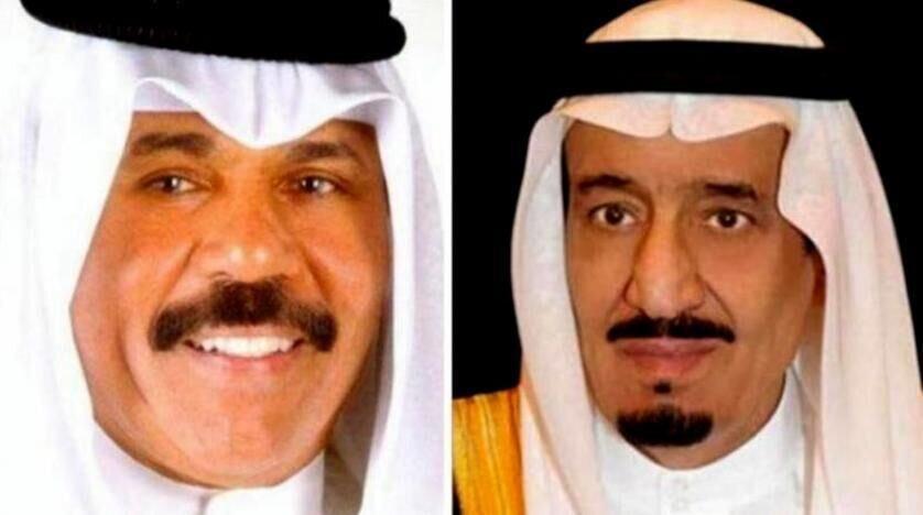پیام مهم امیر کویت به شاه سعودی