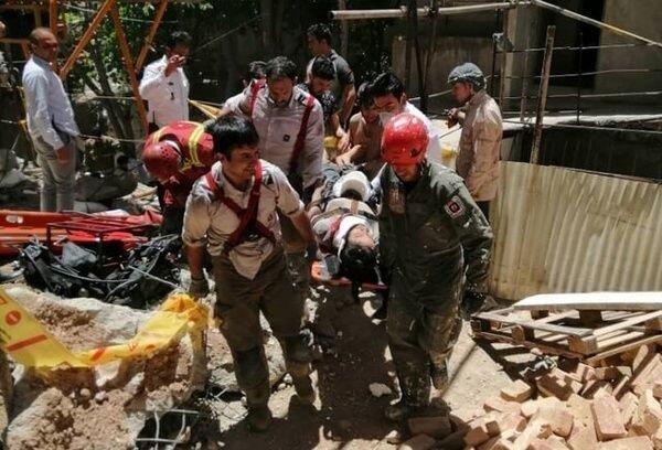 تخریب بخشی از دو ساختمان در خیابان وحدت اسلامی و نبرد شمالی