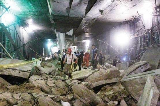 متروی تهران باز هم قربانی گرفت