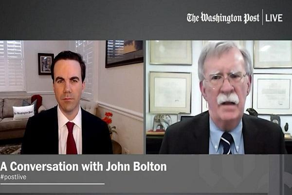بولتون: ترامپ به دنبال مذاکره با ایران و بازگشت به برجام است
