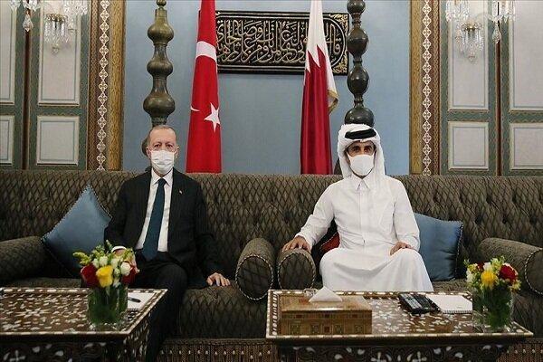 هرگز بر سر پایگاه ترکیه در قطر با کشورهای عربی مذاکره نمی کنیم