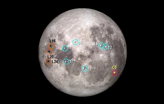 فضاپیمای چینی بر فراز ماه فرود آمد!