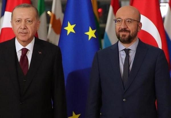 گفتوگوی تلفنی اردوغان و رئیس شورای اتحادیه اروپا