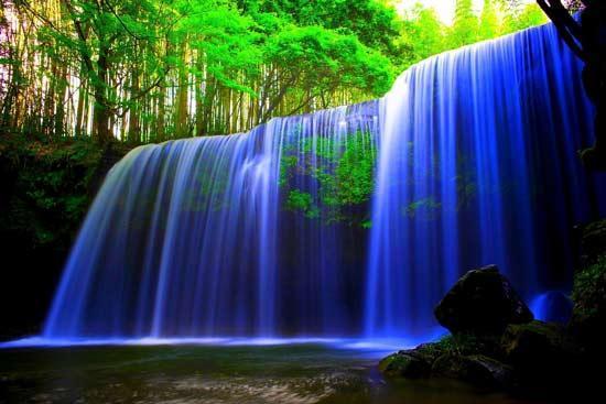 انشا در مورد صدای آبشار در دو سبک ادبی و توصیفی