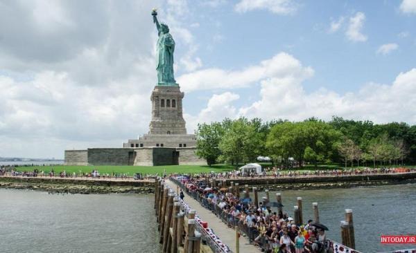 مقاله: گردشی برای ملاقات با مجسمه آزادی در نیویورک