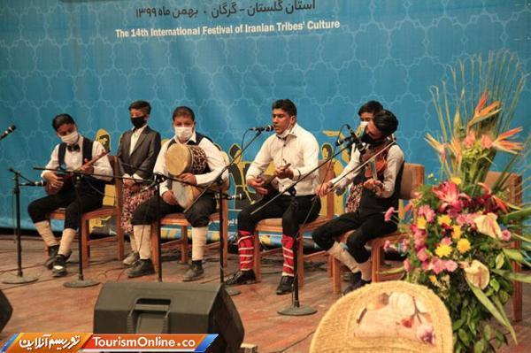 چهاردهمین جشنواره اقوام ایران زمین در گرگان به سرانجام رسید