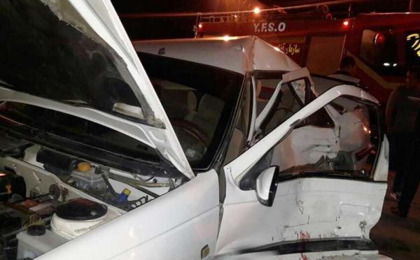 تصادف در جاده سرخرود- آمل سه کشته برجا گذشت