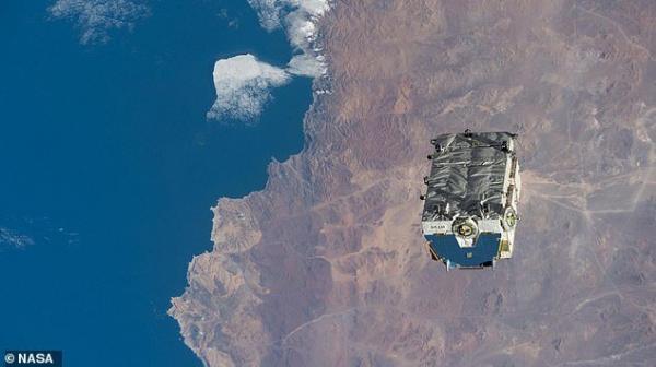 بزرگ ترین زباله ی فضایی تا به امروز در فضا رها شد!