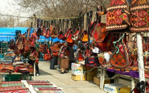 بازار و خیابان ورنیساژ ایروان؛از بهترین بازارهای روباز دنیا، عکس