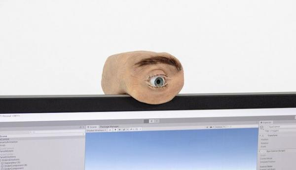 طراحی یک وب کم شبیه چشم انسان