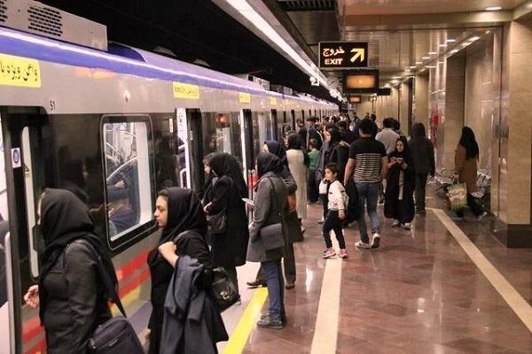 افزایش 10 درصدی مسافران مترو ، مدیریت زمان سفر را جدی بگیرید