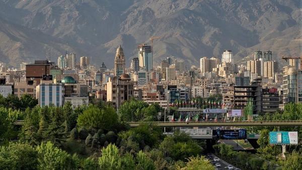 متوسط اجاره یک متر مربع آپارتمان مسکونی دو تا پنج سال ساخت در تهران