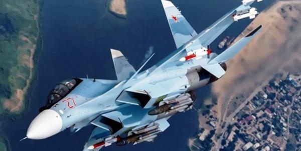 رزمایش عظیم هوایی روسیه بر فراز دریای سیاه