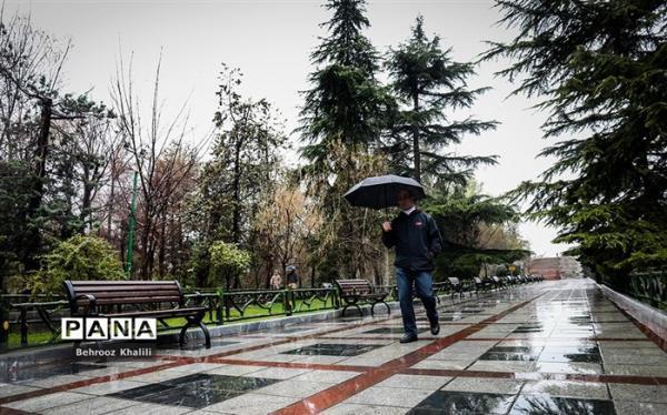 رگبار و رعد و برق در 20 استان طی امروز