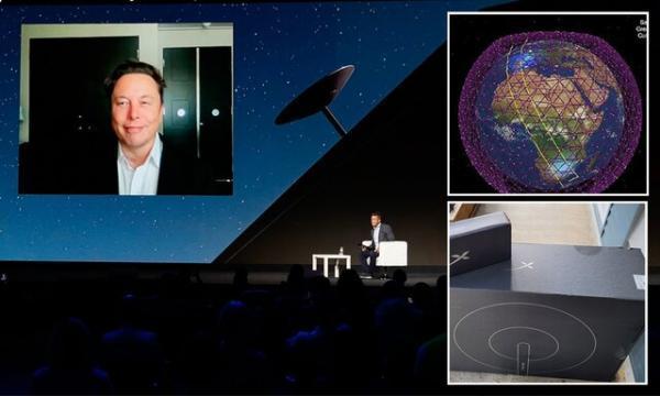 ایلان ماسک: استارلینک تا یک ماه دیگر جهانی می گردد
