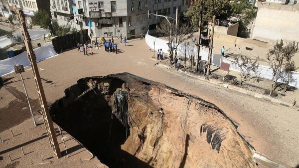 فرونشست زمین در تهران 90 برابر حد بحران اتحادیه اروپا