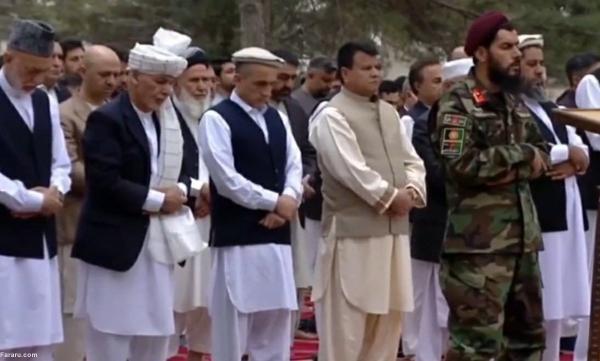 حمله راکتی به ارگ افغانستان هنگام نماز