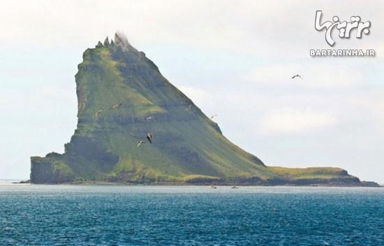 تصاویری دیدنی از جزایر گوسفند در اروپا