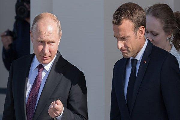 کرملین: پوتین و ماکرون درباره قره باغ، لیبی و کرونا تبادل نظر کردند