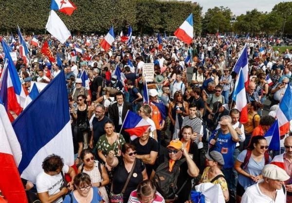 تور فرانسه ارزان: تور فرانسه: برگزاری اعتراضات ضد قواعد کرونایی در فرانسه برای هشتمین هفته متوالی